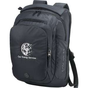 Leed's ofers the elleven checkpoint-friendly backpack (0011-46) which has a hidden RFIDprotected passport pocket.