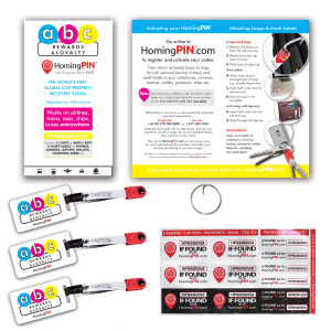 Full color printing for your marketing message.